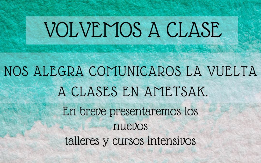 VOLVEMOS A CLASE